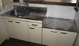 キッチンのリフォーム例