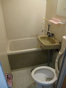 浴室のリフォーム例